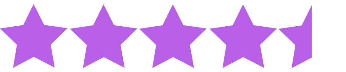 4 and a half stars