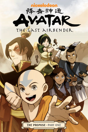 Avatar_The_Last_Airbender_The_Promise_Part_1_cover
