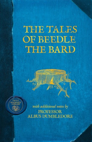 The_Tales_of_Beedle_the_Bard_Hogwarts_Library_cover