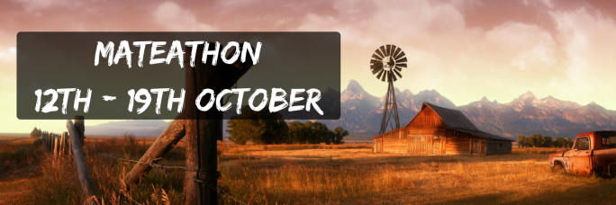MateAThon12th - 19th October