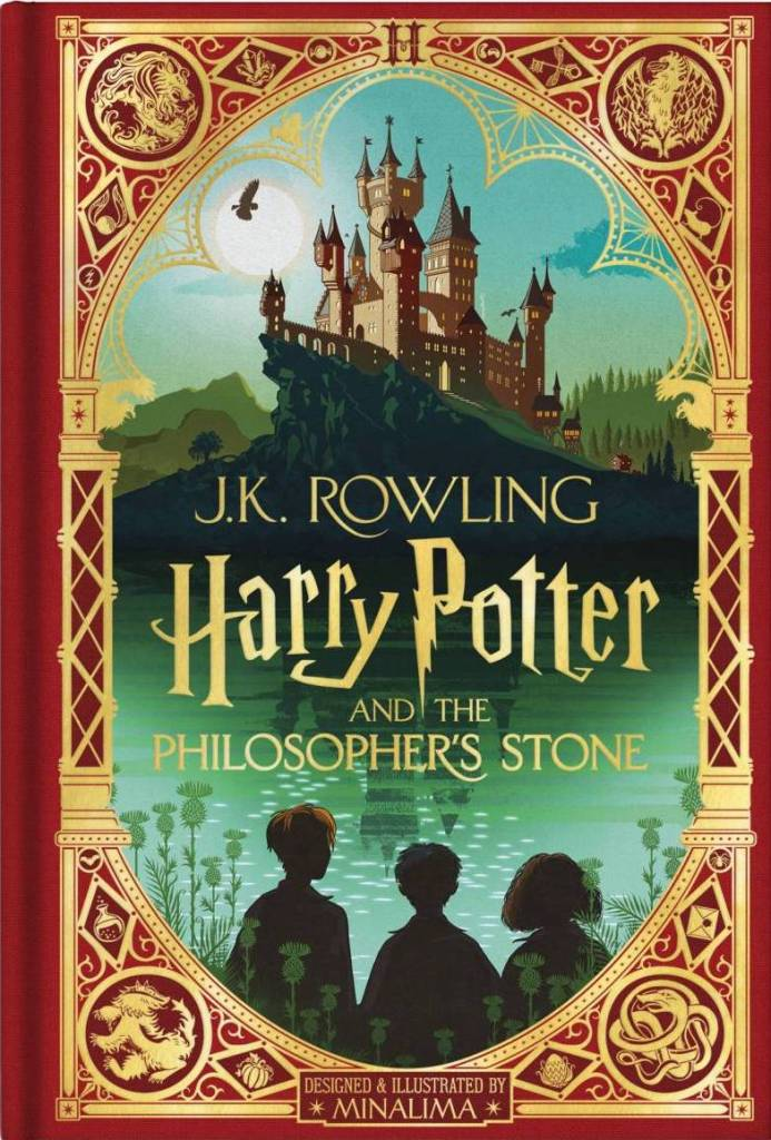 Harry Potter and the Philosopher's Stone (Mina Lima Edition) by J.K. Rowling